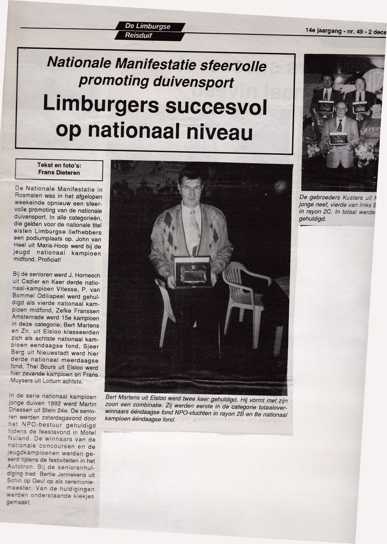 1992 - De Limburgse Reisduif