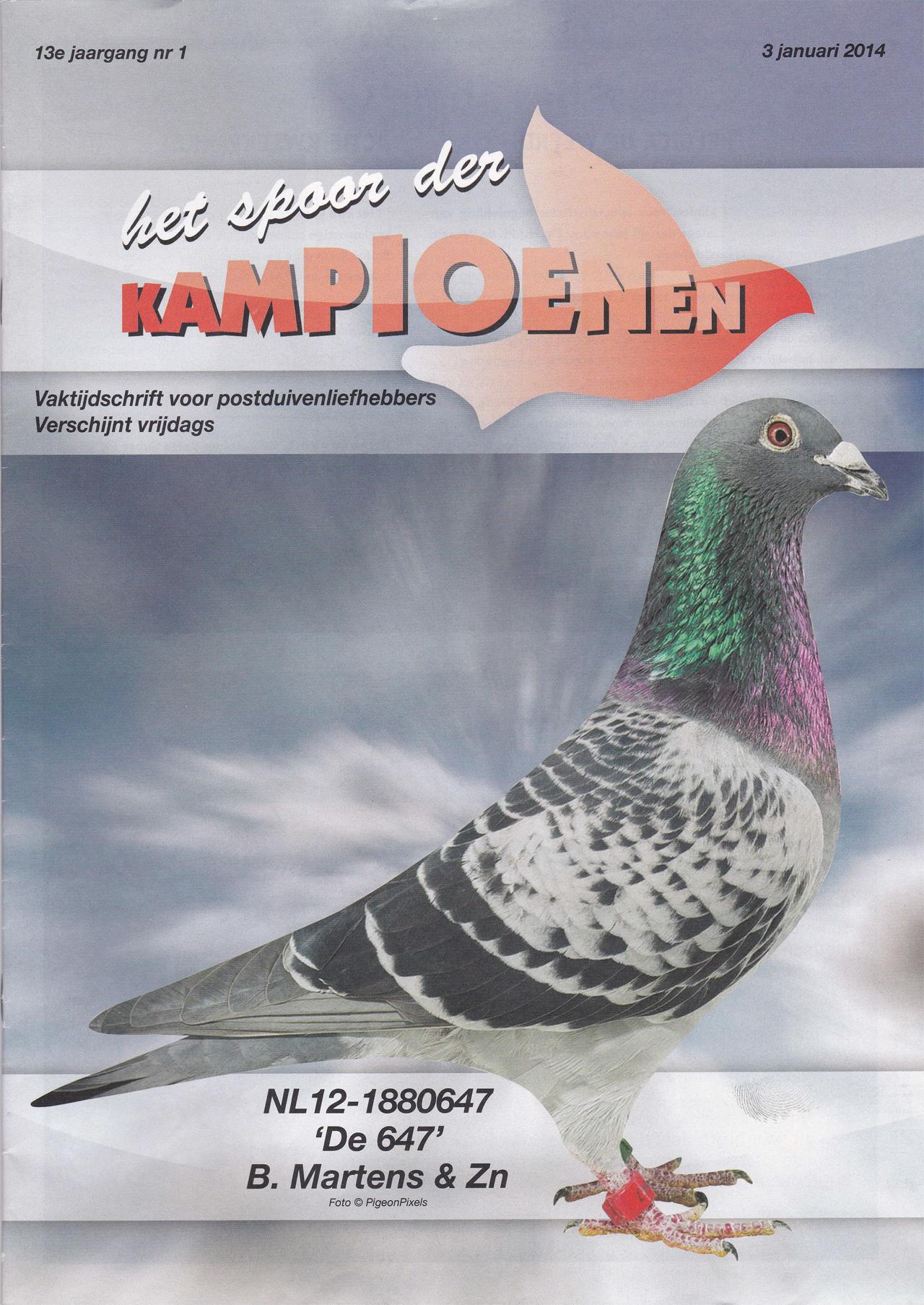 2014 - Spoor der Kampioenen Cover - de 647